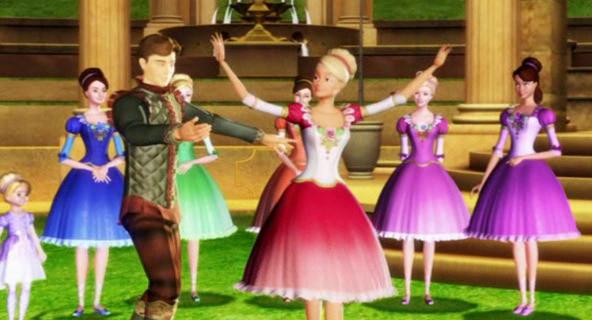 Barbie e le 12 principesse danzanti (2006) Streaming ITA