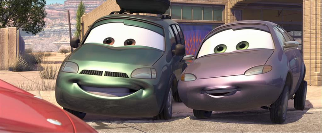 Cars motori ruggenti anime animeclick
