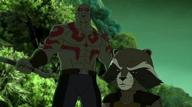 Guardians of the galaxy anime animeclick