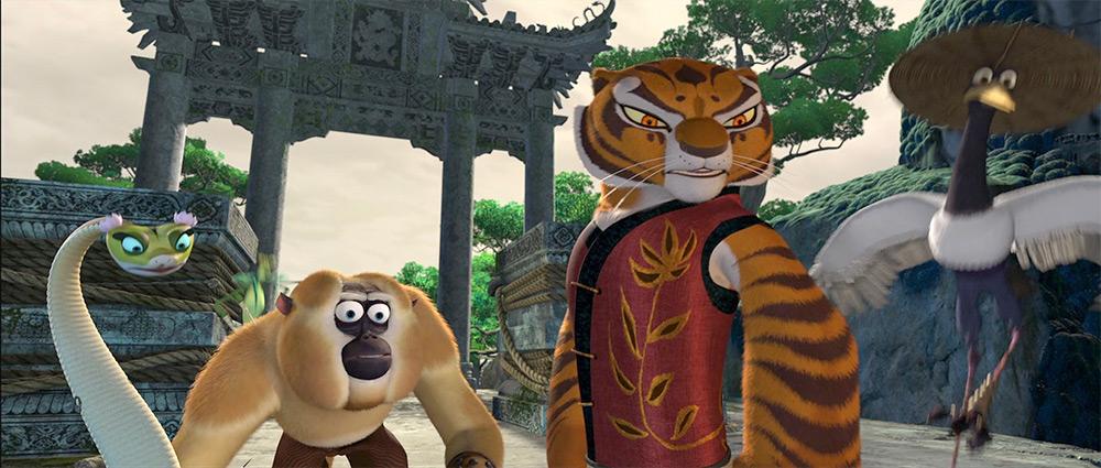Kung fu panda anime animeclick