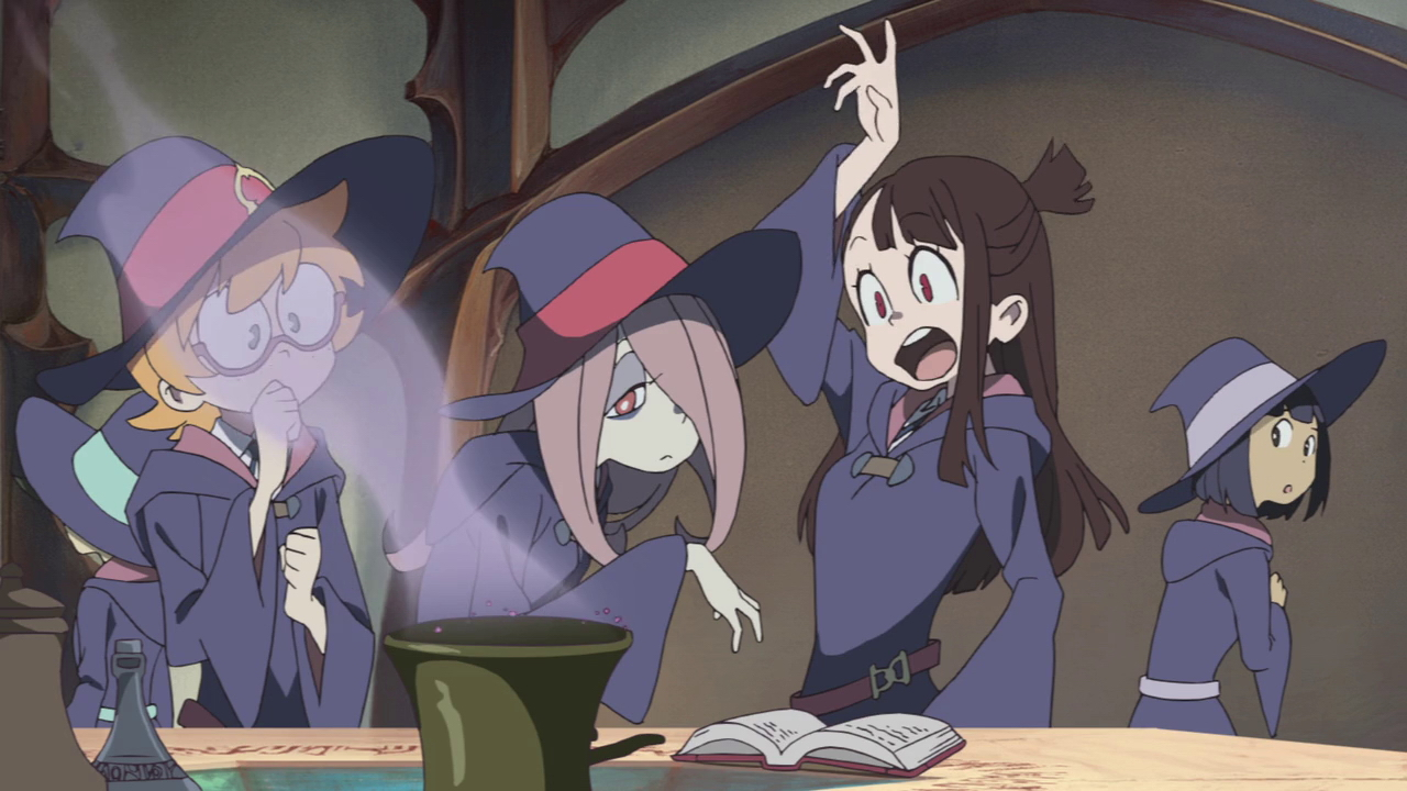 little witch academia  the enchanted parade  anime