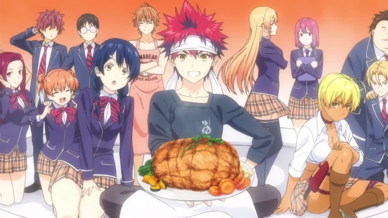Image Result For Food Wars Shokugeki No