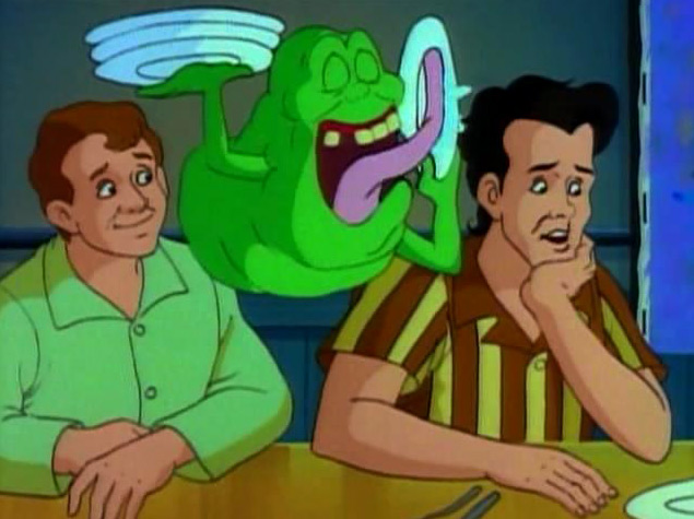 The real ghostbusters anime animeclick