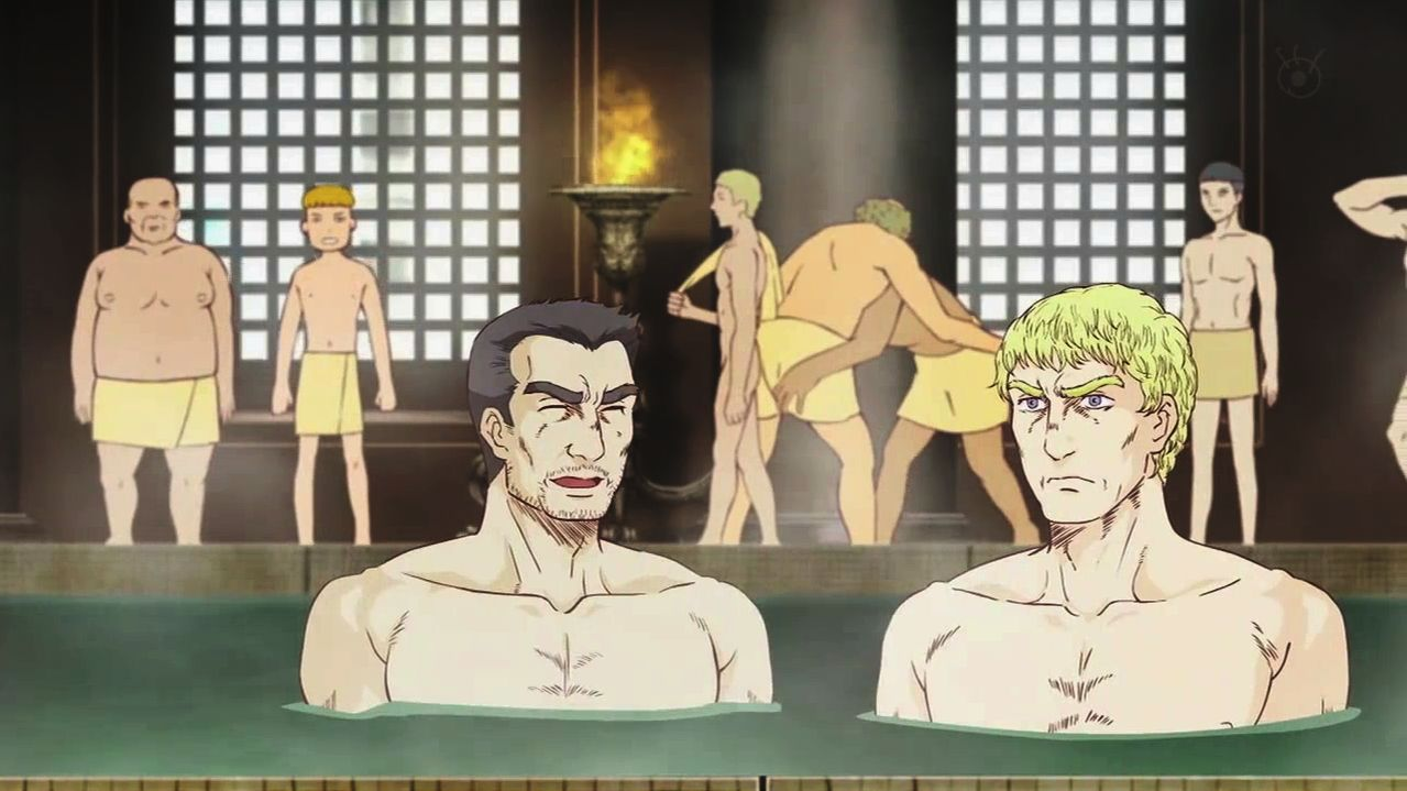Kết quả hình ảnh cho Thermae Romae anime