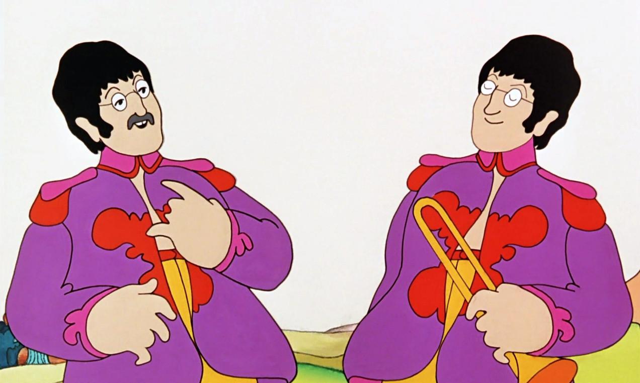 Yellow submarine anime animeclick