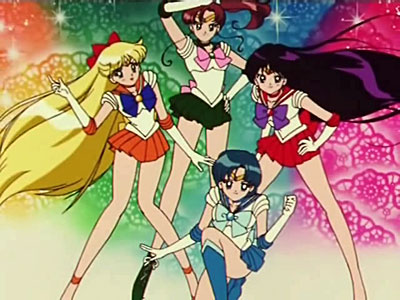 Sailor Moon, la luna splende