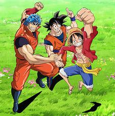 Dream 9: Toriko & One Piece & Dragon Ball Z Chou Collaboration