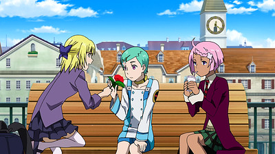 Eureka Seven Ao: The Flowers of Jungfrau