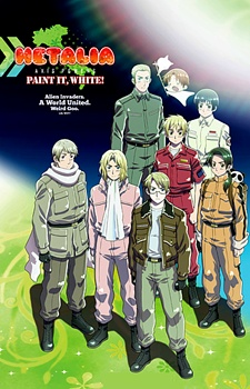 Ginmaku Hetalia: Axis Powers - Paint it, White