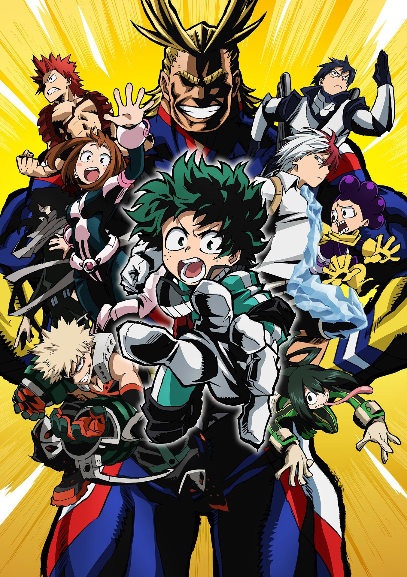 My Hero Academia: Streaming e Download Streaming SUB-ITA (Prima stagione)