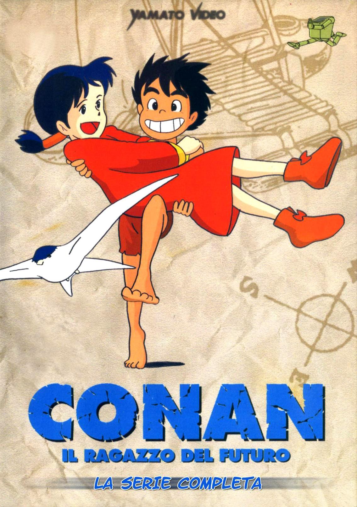 Conan il ragazzo del futuro streaming episodi