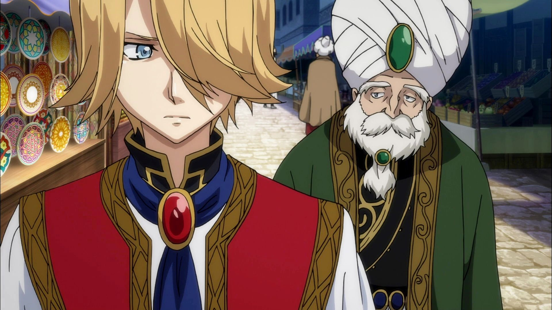Altair A Record Of Battles Anime