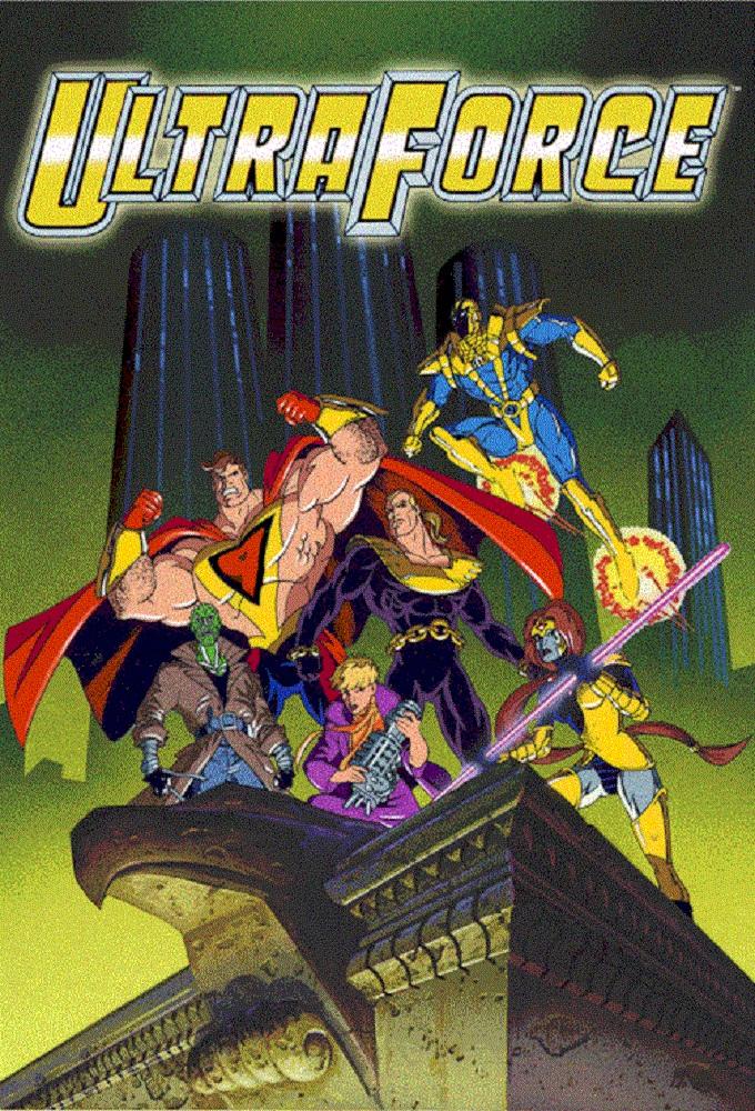 Ultraforce (Anime) | AnimeClick.it