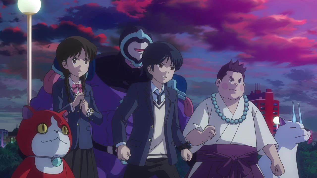 Yo Kai Watch Shadowside Oni O No Fukkatsu Anime Animeclick It