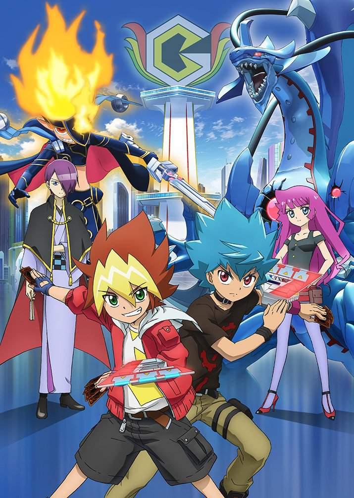 Yu-Gi-Oh! Sevens (Anime)   AnimeClick.it