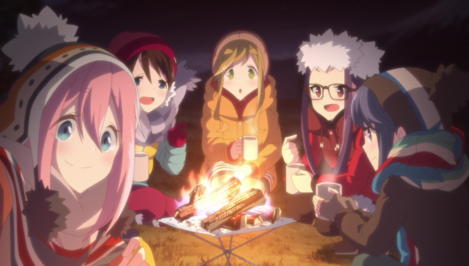 Risultati immagini per yuru camp anime seconda stagione