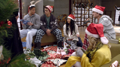 Power Rangers Samurai Christmas Together, Friends Forever