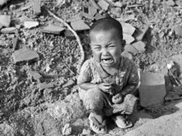 Risultati immagini per vittime hiroshima e nagasaki