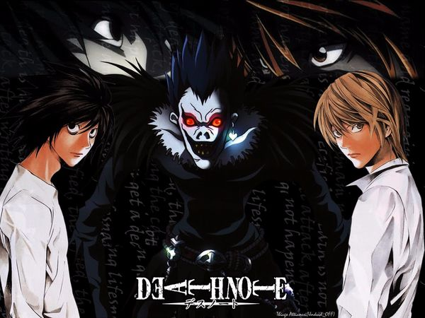 Death Note Light L Ryuk