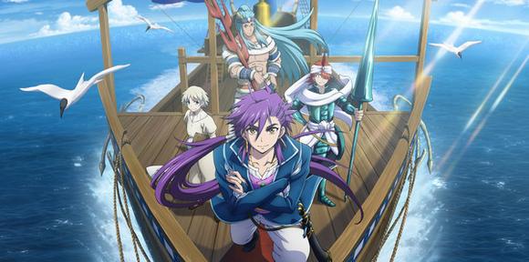 Magi Sinbad no Bouken Anime