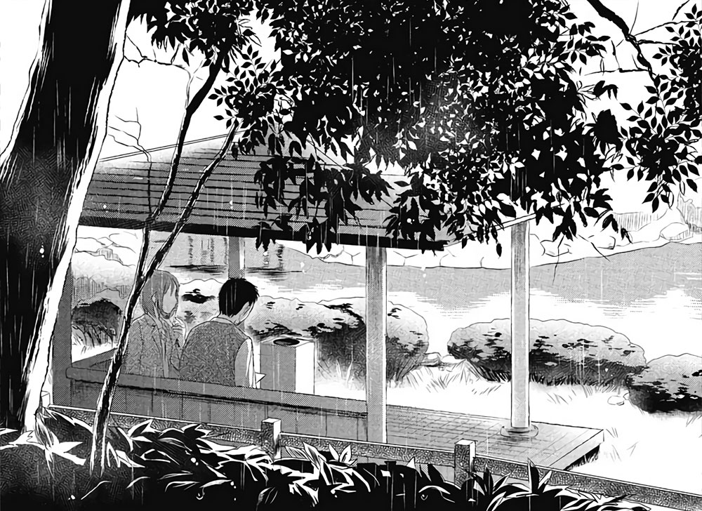 Il giardino delle parole recensione del manga animeclick - Il giardino delle parole libro ...