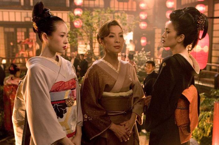 Risultati immagini per memorie di una geisha film 2005