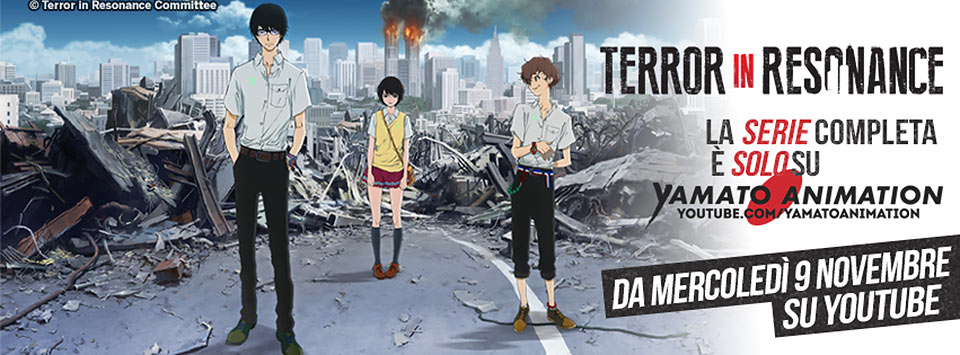 Terror in Resonance su Yamato Animation