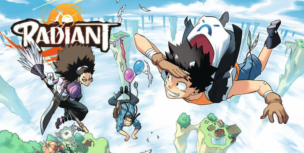Image result for radiant manga read online