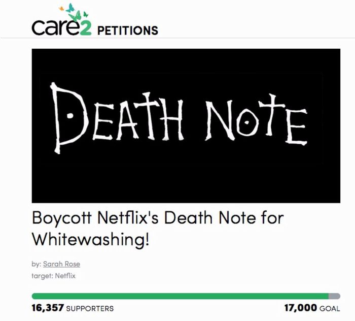 care2 petition death note.JPG