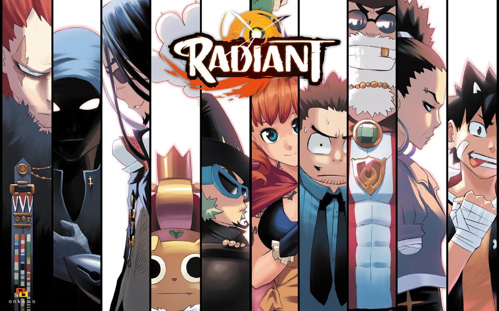 Image Result For Radiant Manga Wallpapera