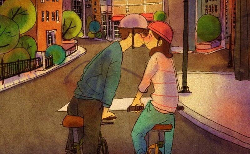 matrimonio senza appuntamenti baciare scena