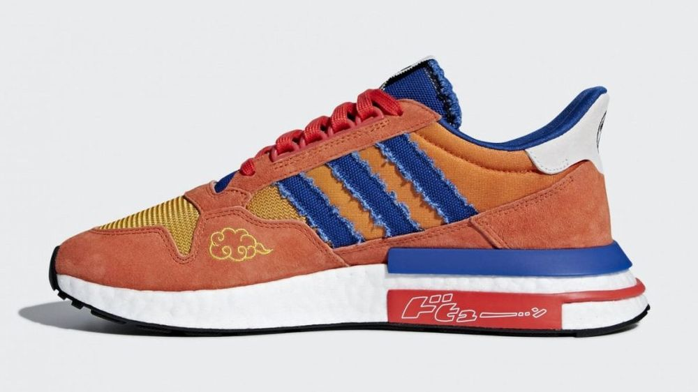 Adidas lancia sneakers dedicate a Dragon Ball Z