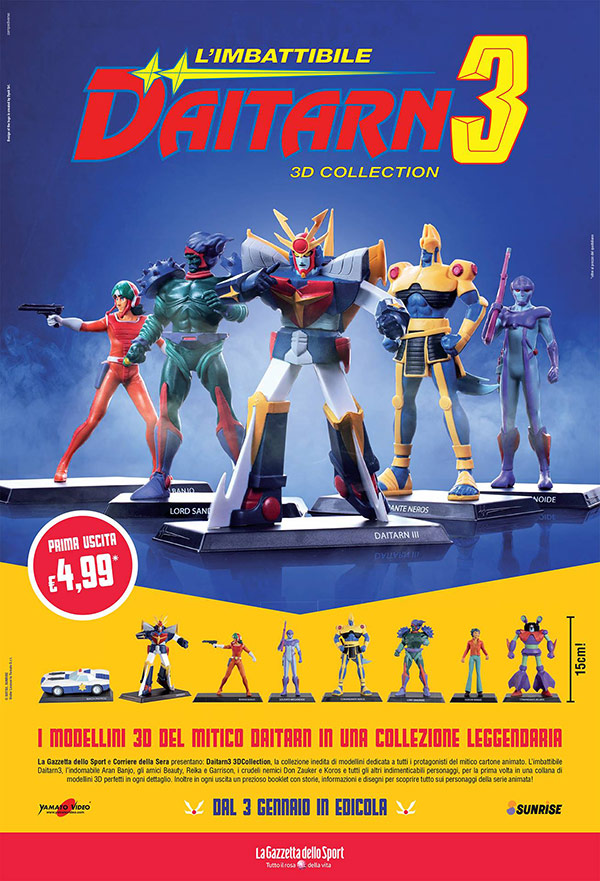 Daitarn 3 3D Collection