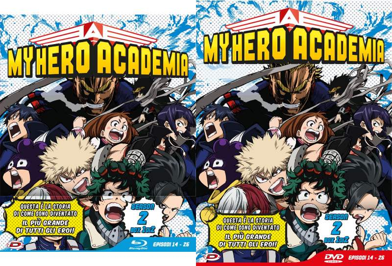 My Hero Academia Stagione 2 box 1