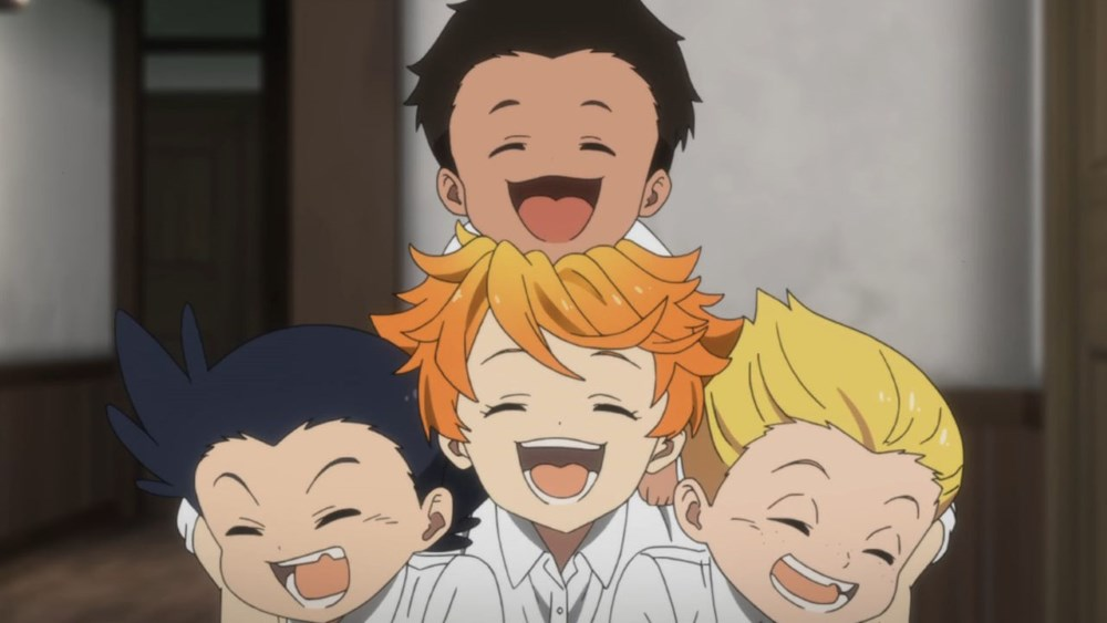 The Promised Neverland Emma Phil Thoma e Lannion
