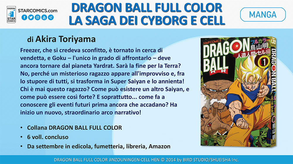 Dragon Ball Full Color - La saga dei Cyborg e Cell 1