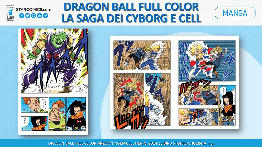 Dragon Ball Full Color - La saga dei Cyborg e Cell 2