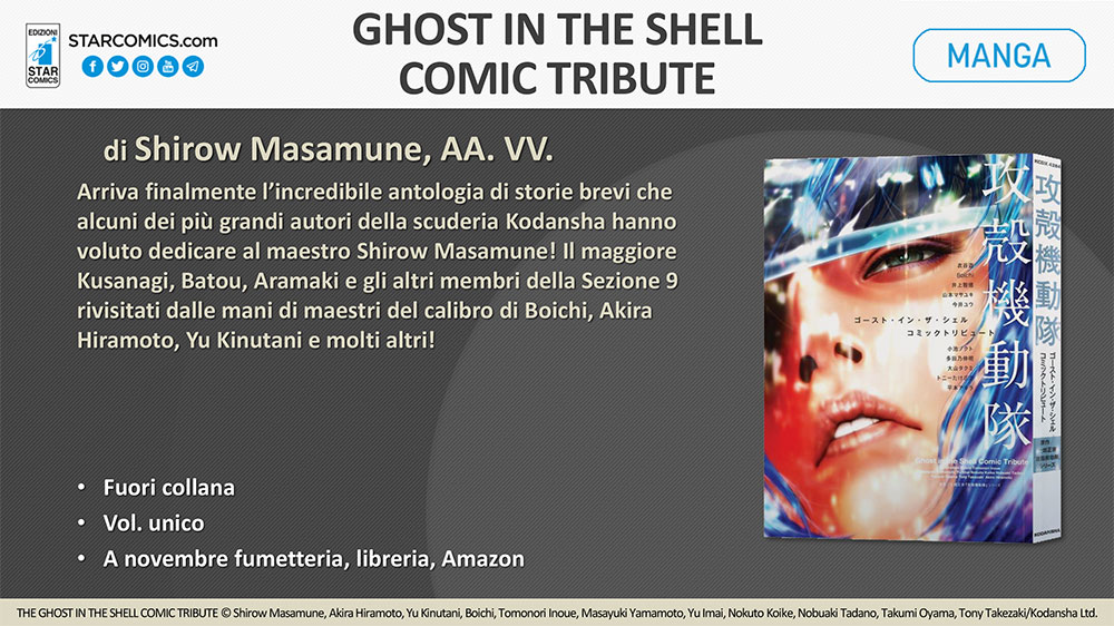 Ghost in the Shell Comic Tribute 1