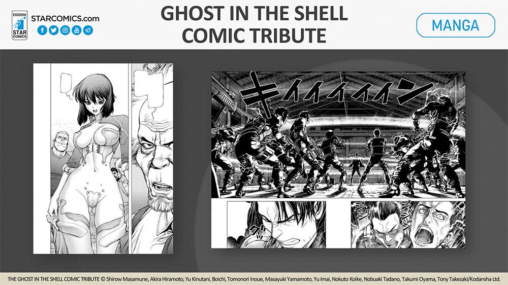 Ghost in the Shell Comic Tribute 2