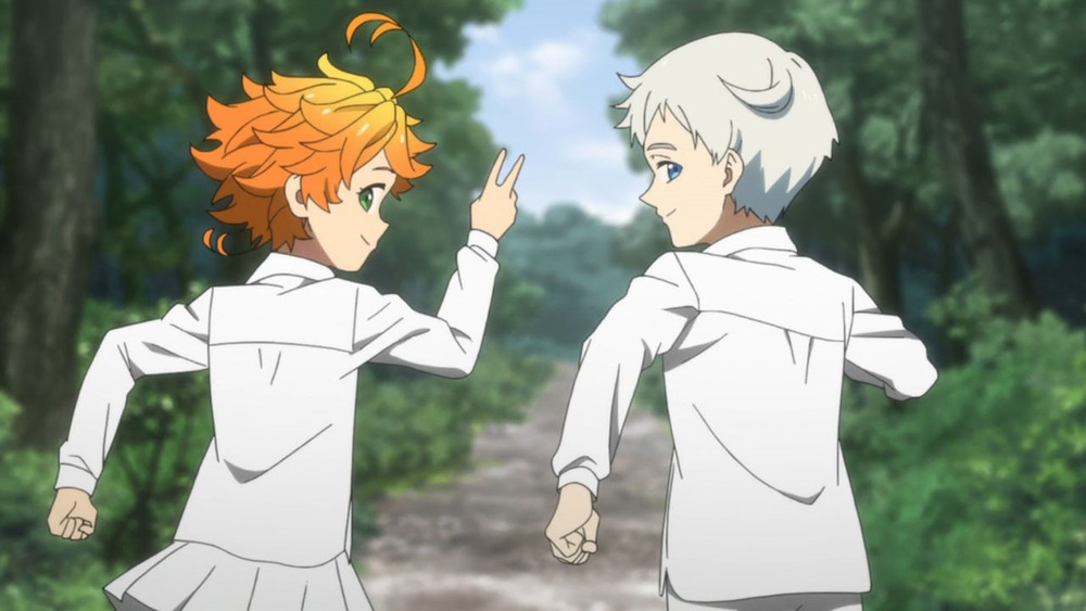 The promised neverland Emma e Norman