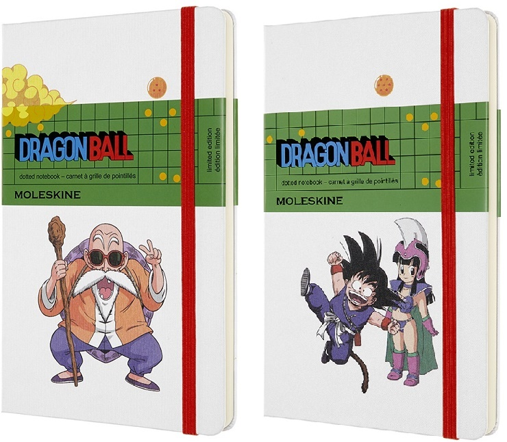 moleskine taccuini dragon ball