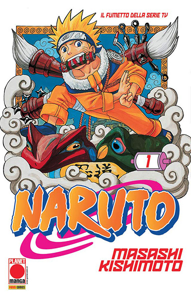 Naruto volume 1 Planet Manga