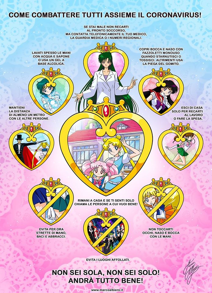 sailor moon albiero