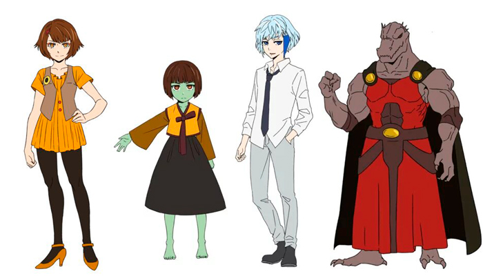 Tower of God cast