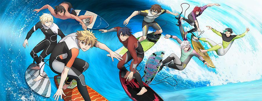 Wave!!: primo trailer per la trilogia anime sul surf