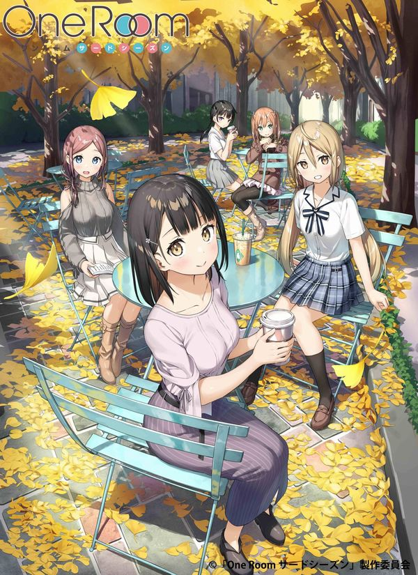 One Room 3, visual per l'anime in arrivo
