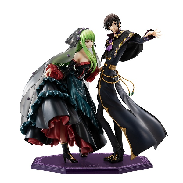 Code Geass - Lelouch Lamperouge e C.C.