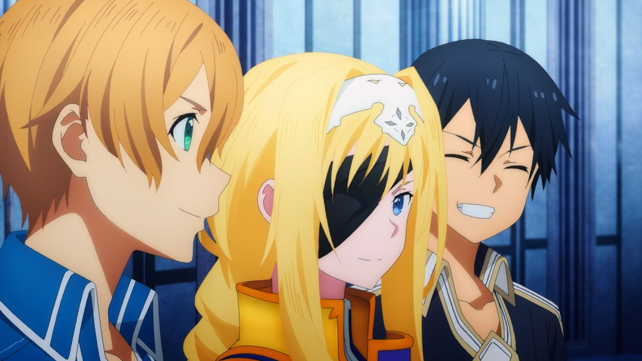 Sword Art Online Alicization Kirito Alice Eugeo