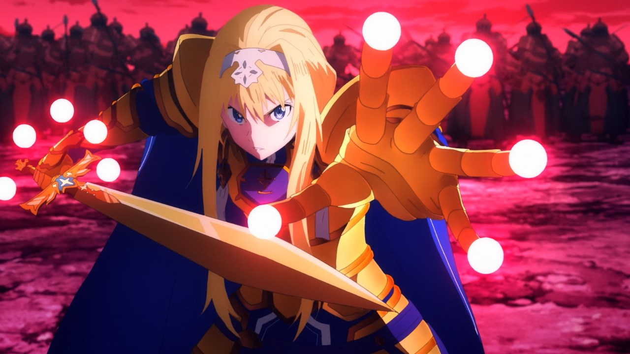 Sword Art Online Alicization Battle Alice