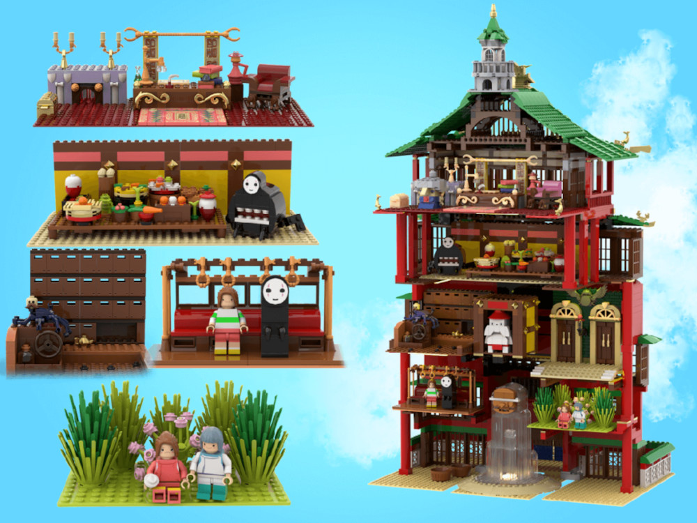 LEGO Spirited Away